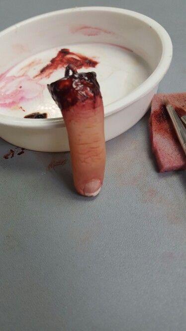 Severed finger keyring