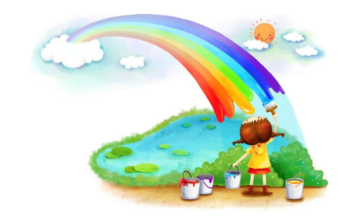 Οι εφτά χρωματιστοί ιππότες – ένα παραμύθι για τη διαφορετικότητα!
