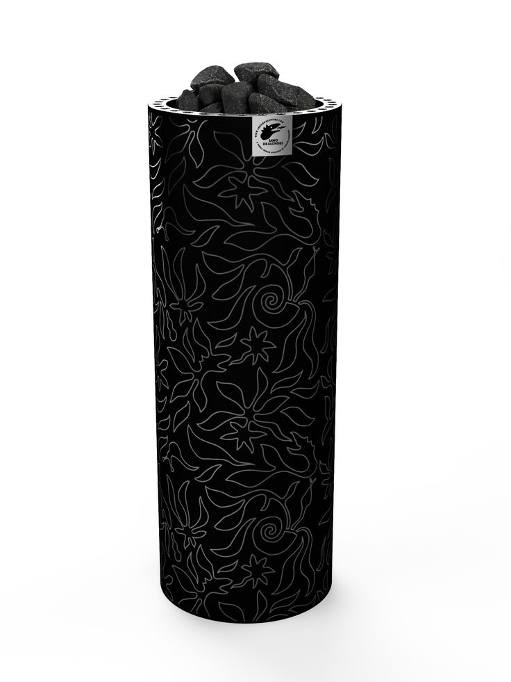 Fiberjungle is a tower heater which has amazing design with velvet. Covered with velvet, which just warms up but doesn't burn. This heater will be the centre point of your sauna.  #design #sauna #saunaheater