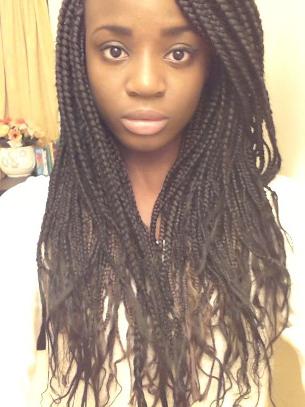 42 best braided hair extensions images on pinterest hair locs growing hair with box braids bing images pmusecretfo Image collections