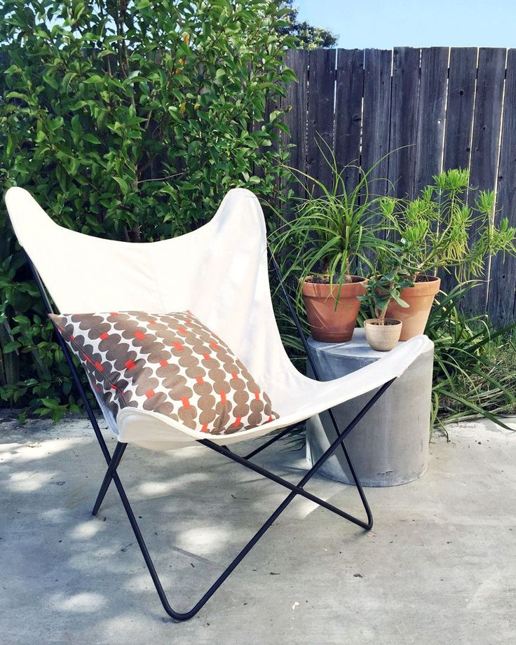 Butterfly Chair in White