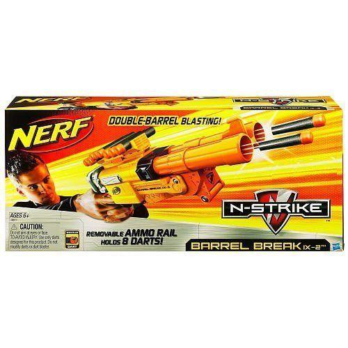 Nerf Barrel Break IX-2 N-Strike Blaster by Hasbro, http://www.amazon.com/dp/B003YDO65K/ref=cm_sw_r_pi_dp_4nv6rb0XXG7GF