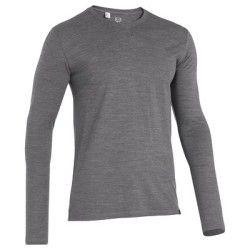 T-Shirt homme Simple WOOL QUECHUA - T-shirt Randonnée - Decathlon