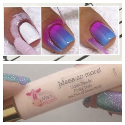 Mess No More Liquid Tape For Pretty Nails Beauty