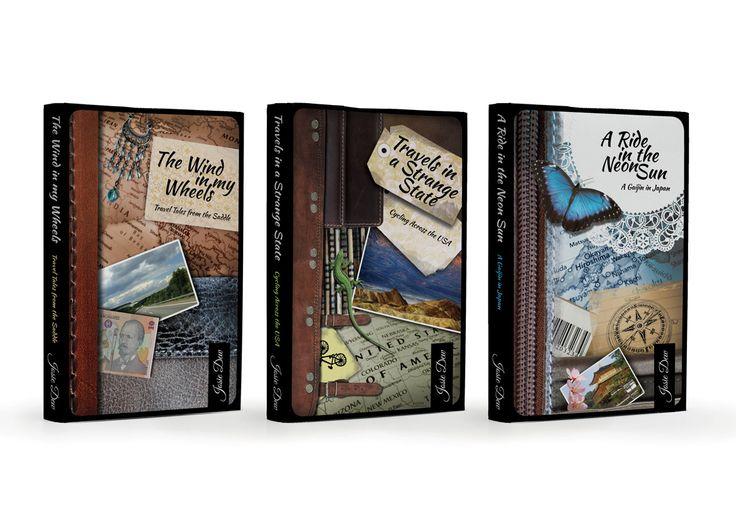 graphic design - book cover / Josie Dew's adventures books