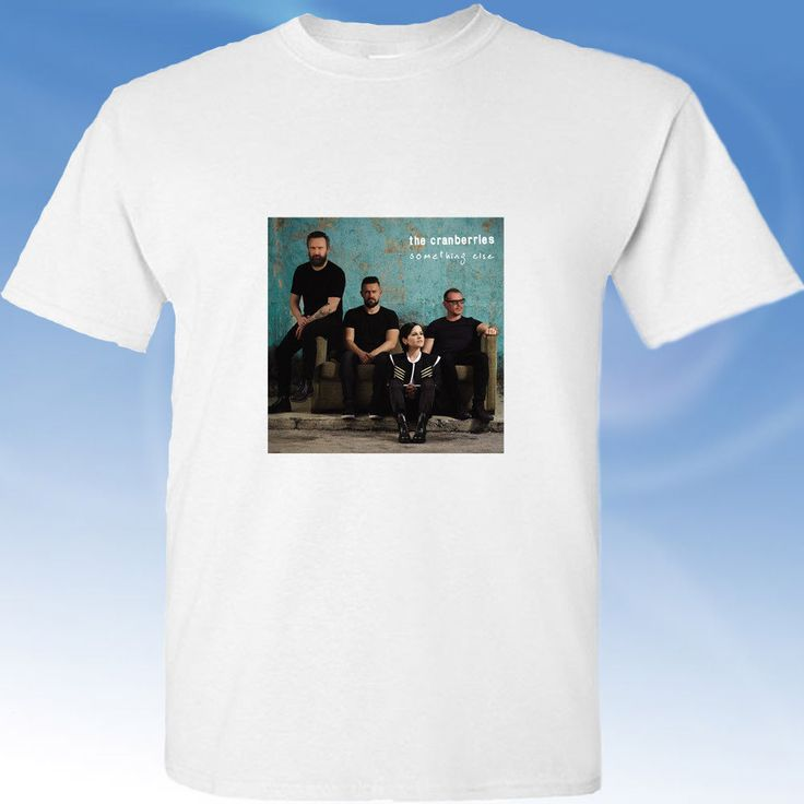 The Cranberries Something Else cover classic white tee shirt