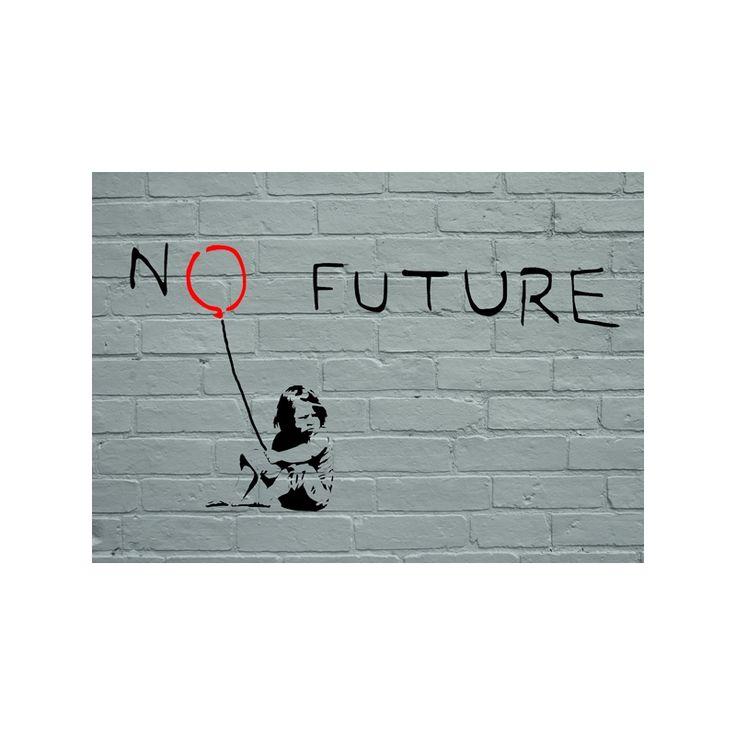 Banksy No future reusable stencil