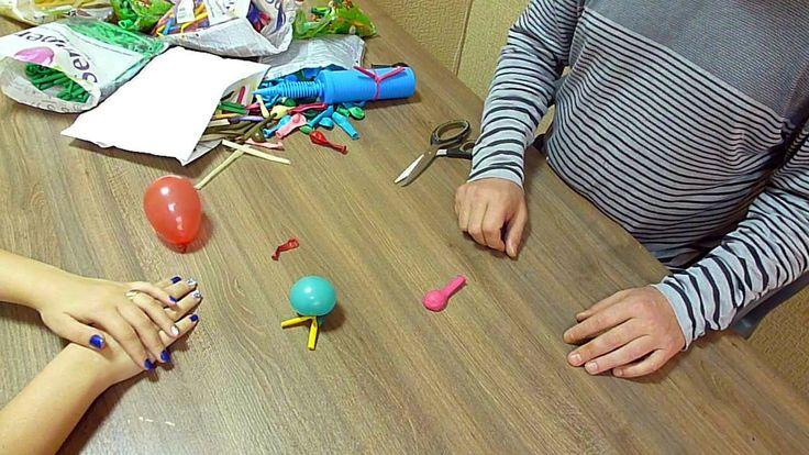 Беседы о воздушных шарах. № 7: Малые круглые шары