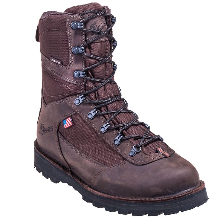Danner Boots Men's Brown 62111 USA-Made Waterproof 8 Inch Hunting Boot