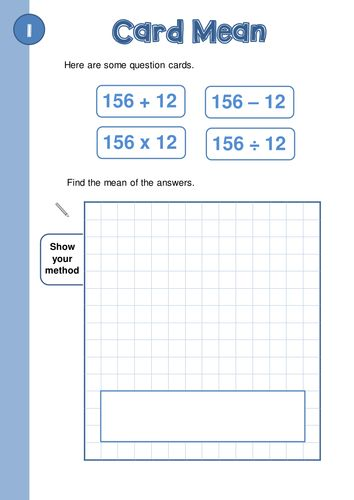 KS2/KS3 Problem Solving Questions - 10 Problems