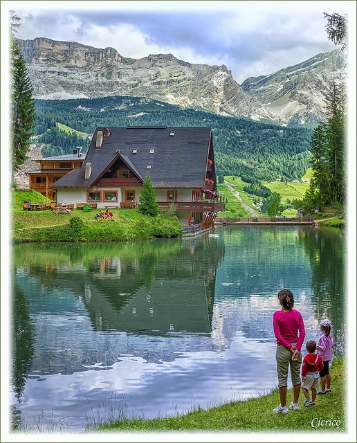 Val Badia - Badia, loc. La Villa (Stern) Lago Somput