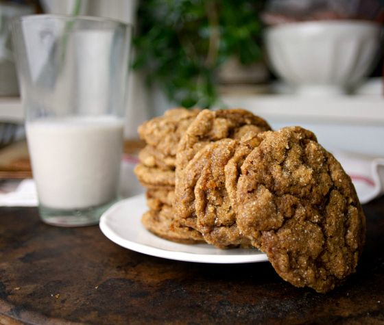 Produce On Parade - Pumpkin Pie Molasses Ginger Cookies