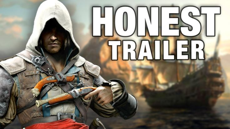 ASSASSIN'S CREED 4 (Honest Game Trailers) (+playlist)