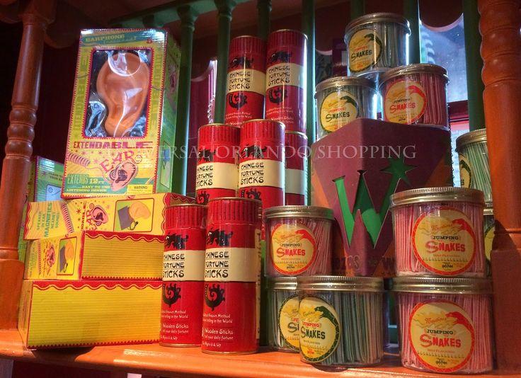 Weasleys' Wizard Wheezes Merchandise in Diagon Alley - Universal Studios Orlando!