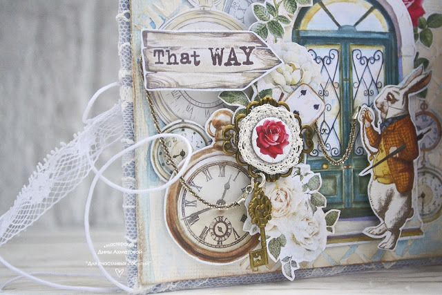 Бумажная сказка: Коллекция Follow the Alice от Bee Shabby. Путешествие в Париж