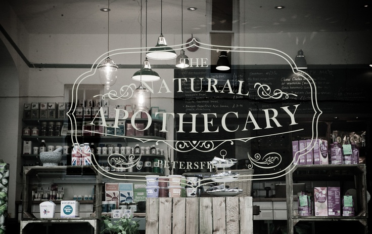 The Natural Apothecary - Health Food Shop and Cafe! Delicious.