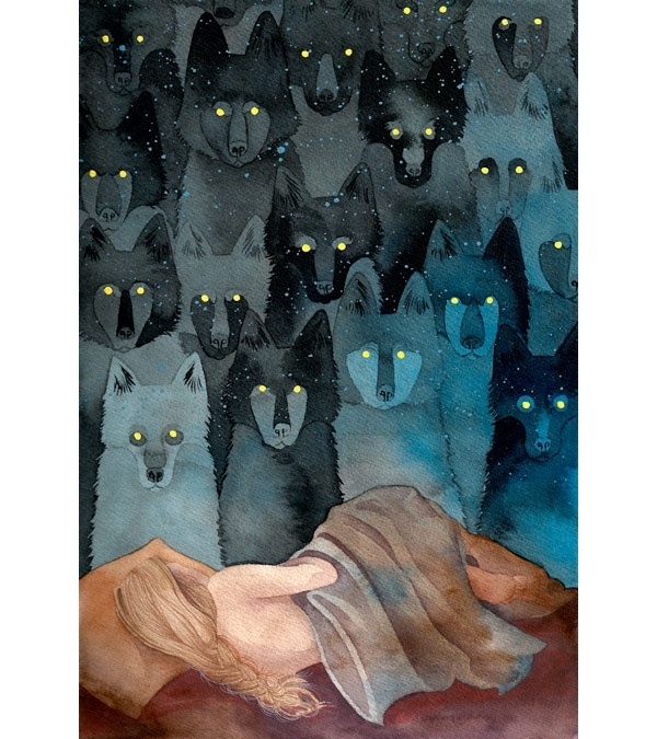 In the company of wolves - Caitlin Clarkson