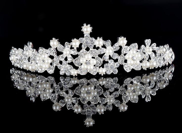 Find More Hair Jewelry Information about Europe and America wedding hair accessories luxury Pearl Crown headband women bride rhinestone hair jewelry hair accessory B778,High Quality Hair Jewelry from The Sunny Day on Aliexpress.com