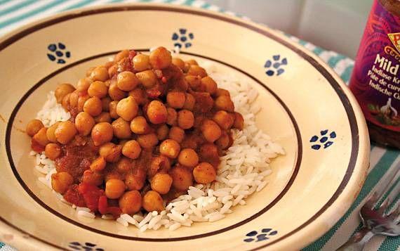 Ceci al curry
