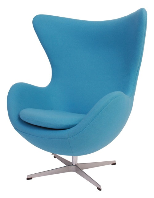 Arne Jacobsen Egg Chair - Such a great design that incorporates style and comfort - fab