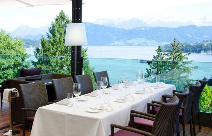 Scala Terrasse | ART DECO HOTEL MONTANA, Luzern