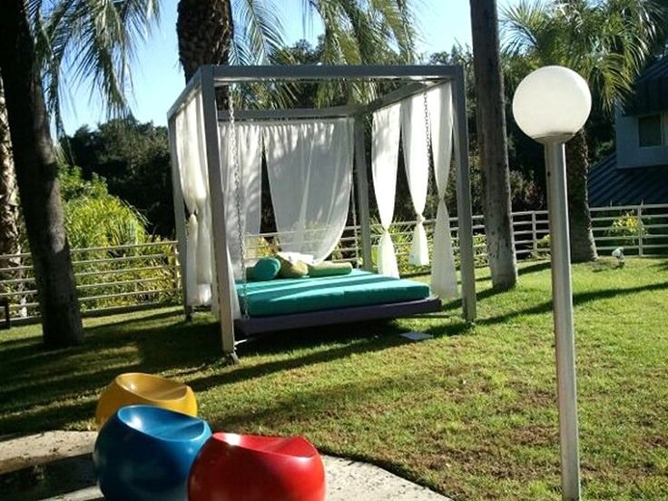 Outdoor Bed 59 best outdoor canopy bed images on pinterest | outdoor decor