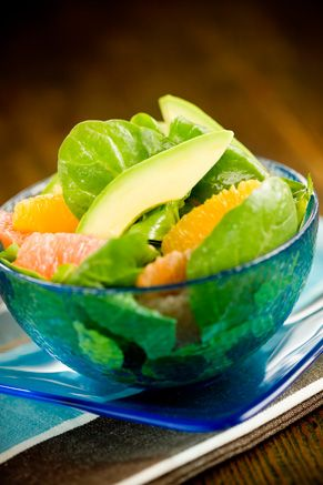 Looks good, FLA citrus; PaulaDeen Citrus Salad with Poppy Seed Dressing