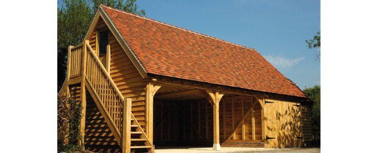 Klassieke houten schuur 1 - Houtbouw Holland | Exclusieve houtbouw schuren