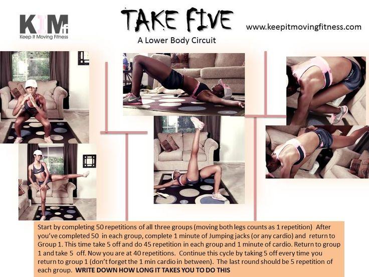 5 Kick-ass ((Printable Workouts)) via www.myfitstation.com