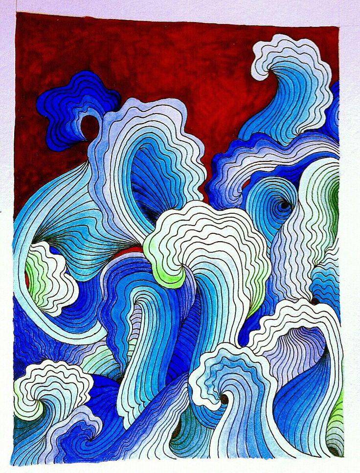 #waves #doodle