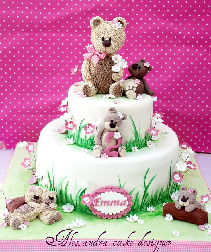 Cake Design Teddy Bear : Teddy Cake Flickr - Photo Sharing! 27 - Cakes: TEDDY ...
