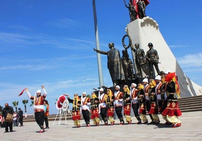 İskenderun'da Turizm Haftası Etkinlikleri Anıt Alanı Kutlaması | FOTO HABER