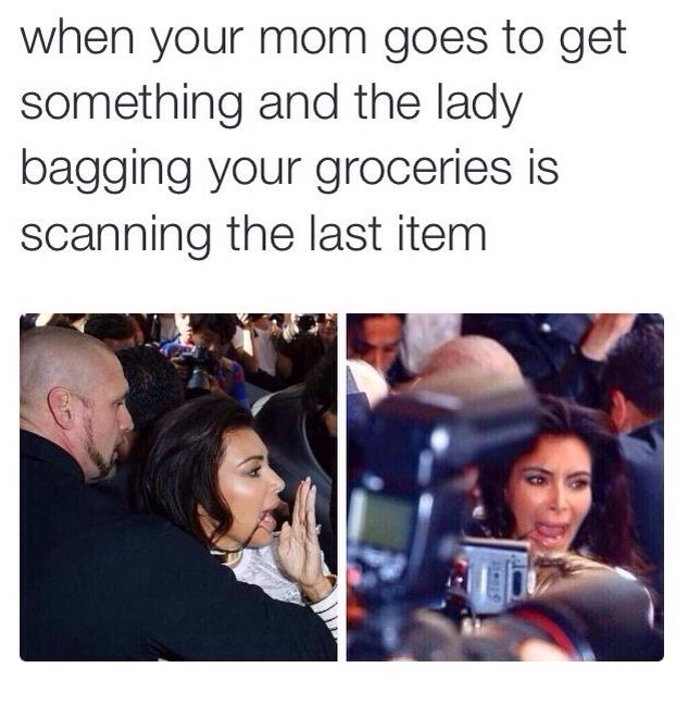 I must be Kim Kardashian!