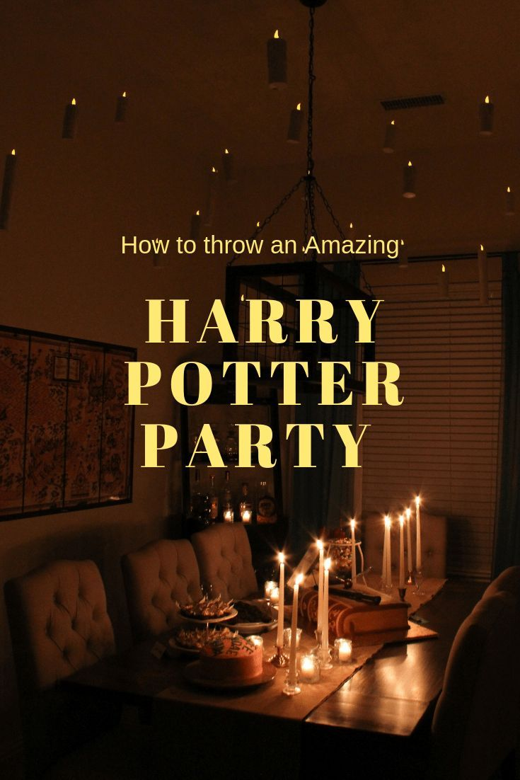 Harry Potter Party Harry Potter Party Decorations Harry