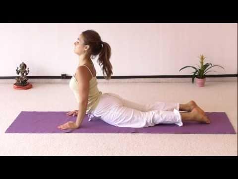 Yoga Sonnengruß für Anfänger - 5 Minuten - YouTube