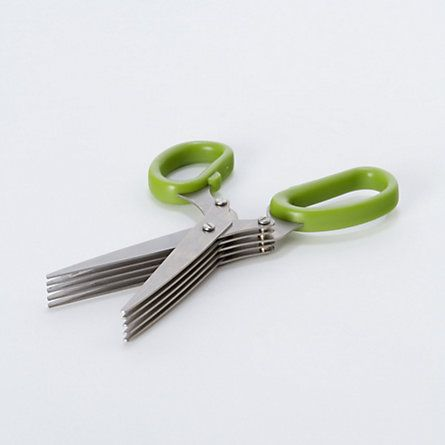 Herb Kitchen Scissors. Great idea!: Herbs Scissors, Herbs Kitchens, Herbs Garden, Modern Kitchens, Kitchens Gadgets, Kitchens Tools, Kitchens Scissors, Kitchen Tools, Herbs Shears