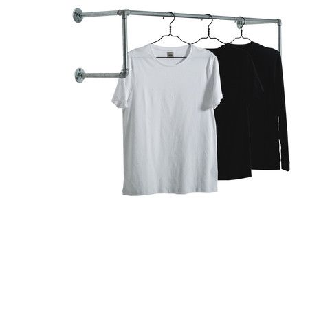 Hang Clothes On Wall 16 best wall rails images on pinterest   clothes rail, all