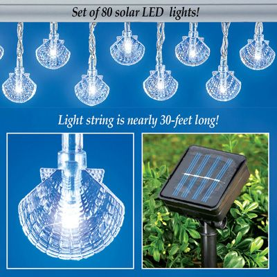 Nautical Solar String Lights : 1000+ images about Nautical Crafts & Decor Ideas on Pinterest Starfish, Sea shells and Sailboats