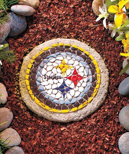 NFL Mosaic Garden Stones|LTD Commodities  Steelers