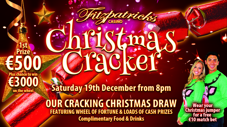 Looking forward to this year's Big Christmas Draw. 19th Dec from 8pm :D