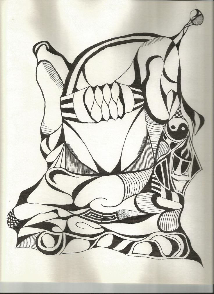 India Ink - Abstract