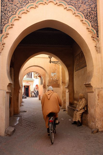 Street in Marrakech. www.facebook.com/Morocco.Specialist AsilahVentures