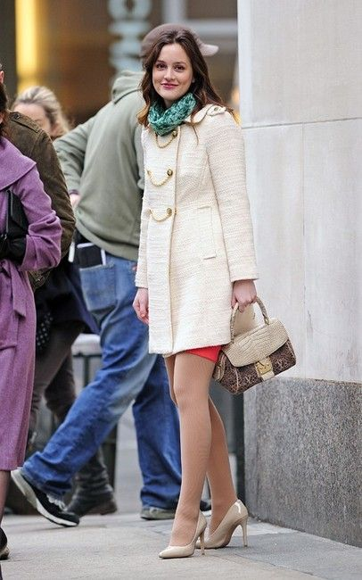 Blair Waldorf's cool weather style.