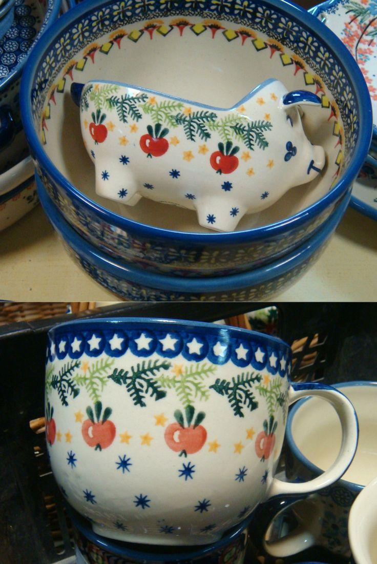 Christmas motives    #посударучнойработы #керамикаручнойработы #посуда #ceramics #pottery #polishpottery ceramic tableware | pottery | polish pottery | boleslawiec | посуда | керамическая посуда | польская керамика | польская посуда | болеславская керамика | керамика