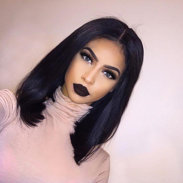 Smokey Eyes & Black Lips  - Reallemy (@lemybeauty) - Instaliga is the best instagram web-viewer