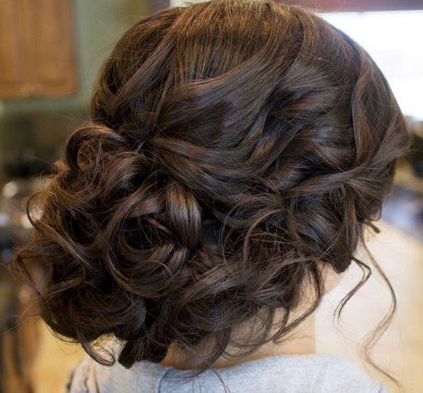 Glamorous Wedding Updo Hairstyle