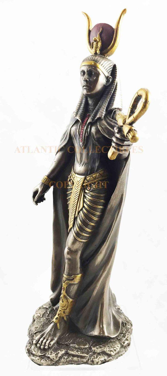 EGYPTIAN GODDESS HATHOR ANKH