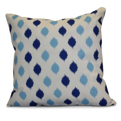 "The Holiday Aisle Hanukkah 2016 Decorative Holiday Geometric Throw Pillow Size: 18"" H x 18"" W x 2"" D, Color: Royal Blue"