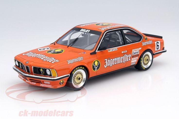 BMW 635 CSi, DPM 1984, No.6, Hans-Joachim Stuck, Jagermeister Brun Motorsport Team. CMR, 1/18. Price (2016): 100 EUR.