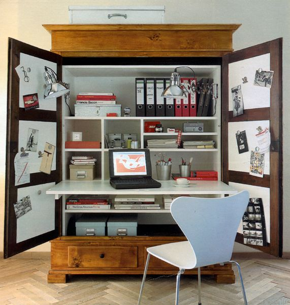 25 best ideas about computer armoire on pinterest craft armoire computer desk organization. Black Bedroom Furniture Sets. Home Design Ideas